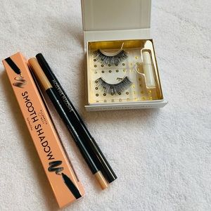 BNIB! Bundle of eyelashes and eyeliner duo
